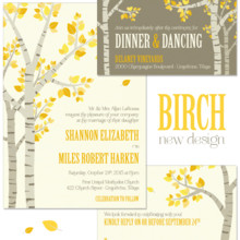 220x220 sq 1376668440009 birch tree modern fall wedding invitation