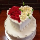 130x130 sq 1398270293952 heart wedding cak