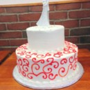 130x130 sq 1398271267767 swirl wedding cak