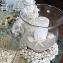130x130 sq 1383166274054 beach theme centerpeice white shell wreat