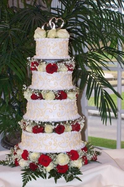 icing on top llc wedding cake kansas city mo weddingwire. Black Bedroom Furniture Sets. Home Design Ideas
