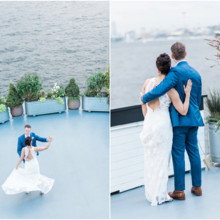 220x220 sq 1478292421286 bride and groom on deck