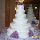 130x130 sq 1418399324328 wedding cake lace with pearl strands