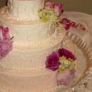 130x130 sq 1415644102114 pink flower cake