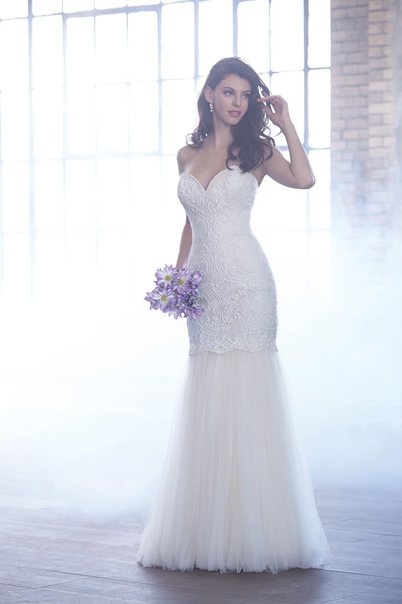Madison james wedding dresses photos by allure bridals for Madison james wedding dress prices