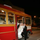 130x130 sq 1369943312617 trolley with wedding couple