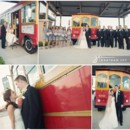 130x130 sq 1369943718231 close up bride and groom trolley