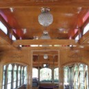 130x130 sq 1369944060988 trolley roof and chandeliers and wood medallions