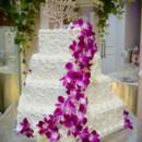 130x130 sq 1478625835176 hexagon white with purple flowers