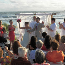 220x220 sq 1427765310787 doubletreebeachresortwedding0445c