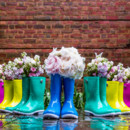 130x130 sq 1495205621484 floral wedding boots