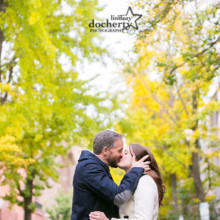 220x220 sq 1401300249178 kissing fall engagement picture ld