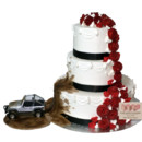 130x130 sq 1454100248225 3 tier wedding roses muddy jeep