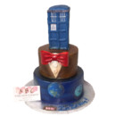 130x130 sq 1454100621753 dr who wedding cake