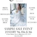 130x130 sq 1418236276904 sample sale poster