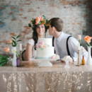 Venue: Bread and Chocolate  Cake: Sweet Em's Cake Shoppe
