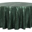 130x130 sq 1484769032800 glitz roundtablecloth emeraldgreen