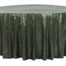 130x130 sq 1484769095572 glitz roundtablecloth willowgreen