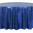 130x130 sq 1484772371060 glitz roundtablecloth royalblue