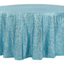 130x130 sq 1484772378121 glitz roundtablecloth turquoise
