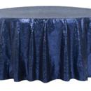 130x130 sq 1484772397986 glitz roundtablecloth navyblue