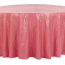 130x130 sq 1484772411543 glitz roundtablecloth coral