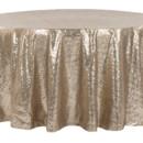 130x130 sq 1484772440177 glitz roundtablecloth champagne