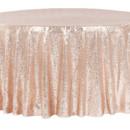 130x130 sq 1484772447163 glitz roundtablecloth blush