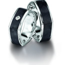 From our Carbon Collection, this ring is available in various precious metals.