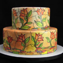 130x130 sq 1433364560032 stained glass wedding cake