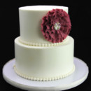 130x130 sq 1449520167844 ruffle flower wedding cake 2