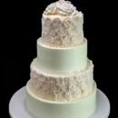 130x130 sq 1449521938219 roses rosettes wedding cake