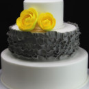 130x130 sq 1449522033312 ruffles  ranunculus wedding cake