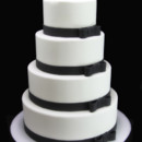 130x130 sq 1449524052472 bow wedding cake