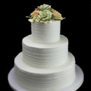130x130 sq 1449524201676 bouquet of flowers wedding cake