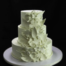 130x130 sq 1449524248314 whimsical embossed flowers wedding cake
