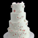 130x130 sq 1459533905859 cascading custom flowers wedding cake