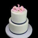 130x130 sq 1459534366873 tropical orchid 2 tier cake