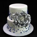 130x130 sq 1459534469210 silver peony cake