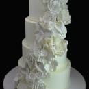 130x130 sq 1478200044116 floral white on white wedding cake