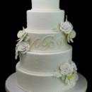 130x130 sq 1478200215294 elegant flowers swiss dot cake