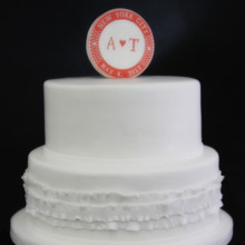 220x220 sq 1449520150782 ruffle  logo wedding cake