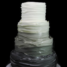 220x220 sq 1459533613863 fondant ombre ruffles wedding cake thumb