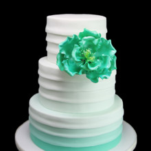 220x220 sq 1459533975155 fondant green ombre horizontal old fashioned weddi