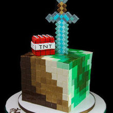 220x220 sq 1513197768 de7e0c064cf0b2bf 1478200506586 minecraft cube cake with sword