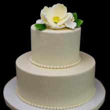 220x220 sq 1513198422092 magnolia petite wedding cake