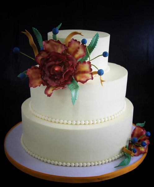 wedding cakes bakery nyc 600x600 1354812457032 floralweddingcake3 23845