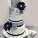 130x130 sq 1452113001 557d77165a287bb3 black silver sequins