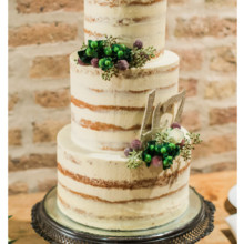 220x220 sq 1471121060110 3 tier naked cake fresh floral