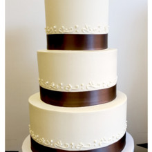 220x220 sq 1471121706309 simple 3 tier small scroll cake